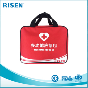 2017 disaster contents private label emergency survival kit/customized first aid kit